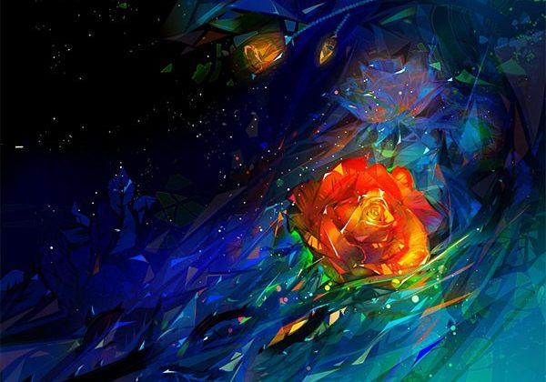 rose-background