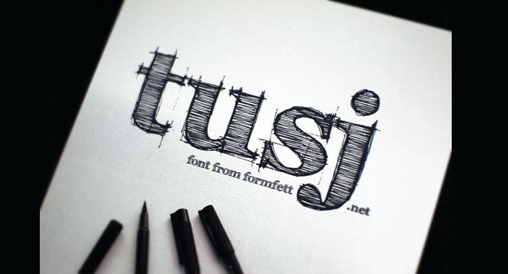 20 Best Hand Drawn Free Fonts