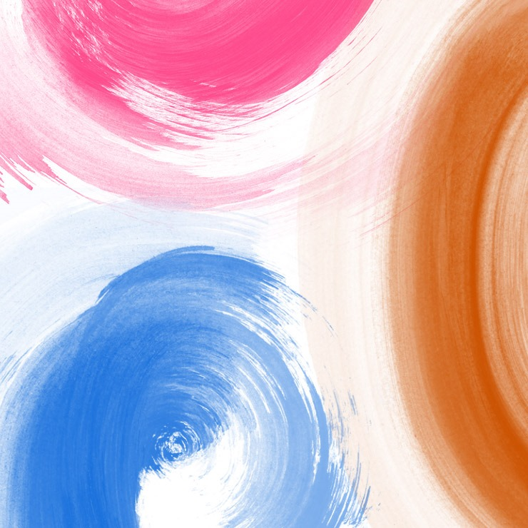 paint swirls free photoshop brush set