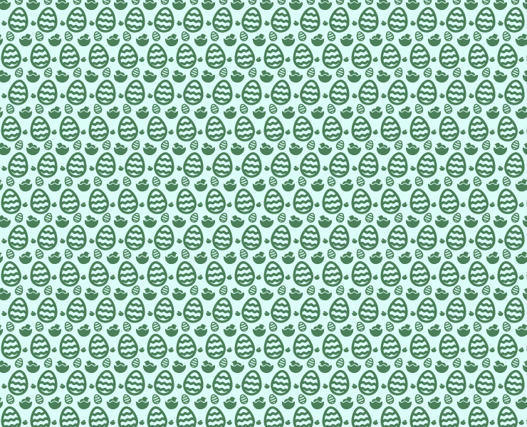 green-dark-easter-pattern