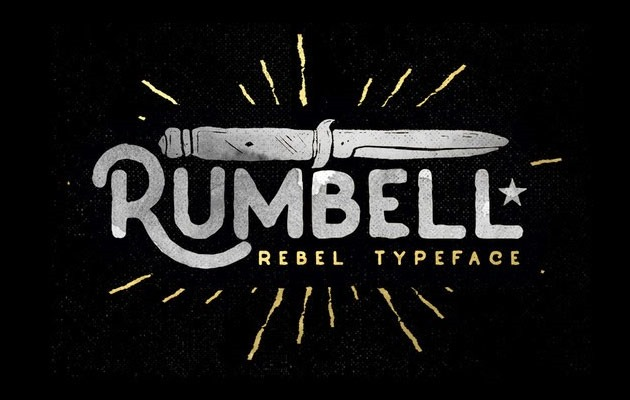 rumbell thumb 20 fresh free fonts created in 2015