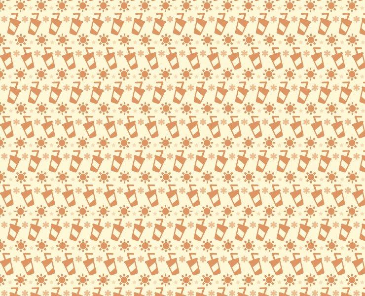 sand sun and cocktails seamless pattern thumb Sunshine and cocktails free seamless vector pattern