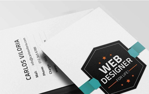 25 free photoshop business card templates creative nerds retro business card psd cheaphphosting Image collections