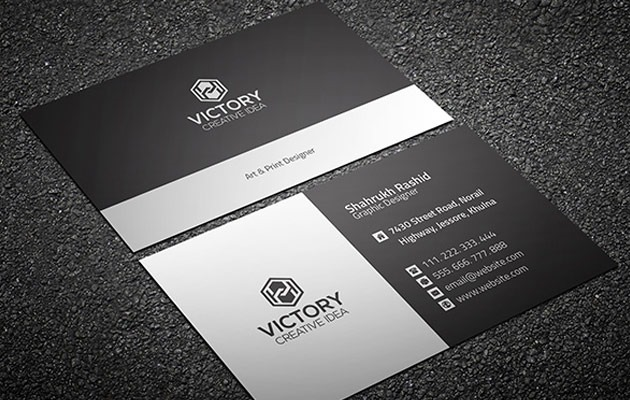 25 free photoshop business card templates creative nerds graiht corporate business card reheart Choice Image