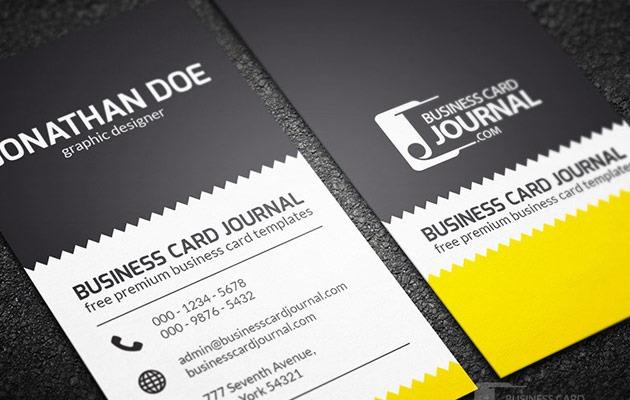 25 free Photoshop business card templates | Creative Nerds