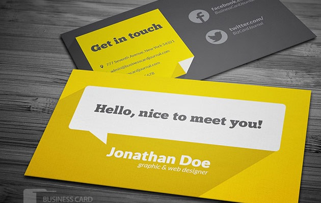 25 free photoshop business card templates creative nerds flat business card template fbccfo Image collections