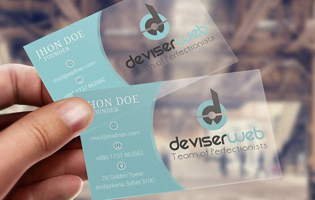25 free photoshop business card templates creative nerds free psd transparent plastic business card transparent busioness card fbccfo Image collections