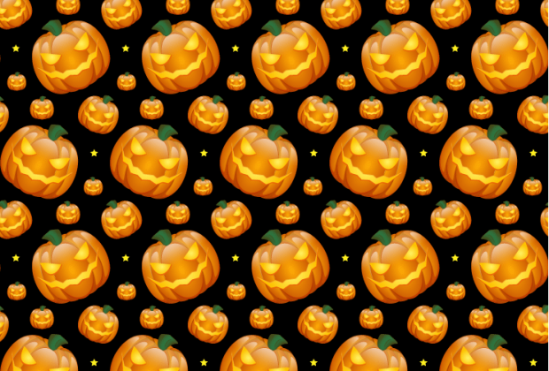 scary-halloween-punmkin-pattern