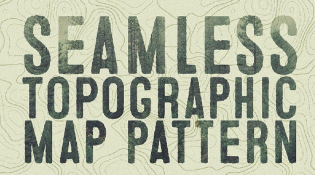 seamless map 25 Fresh new illustrator tutorials from 2015