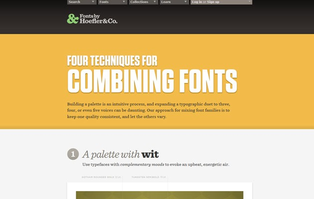 combing fonts thumb How to choose the perfect font pairing for your web project