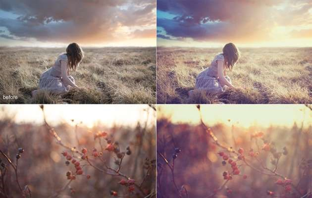 day dream 15 fresh must download Photoshop actions
