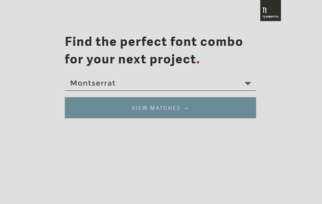 typeminus thumb How to choose the perfect font pairing for your web project