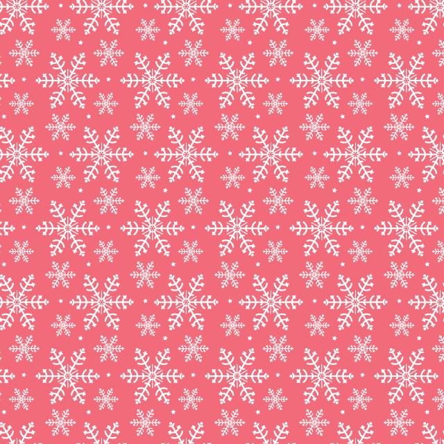 pink snowflake pattern Winter snowflakes free seamless vector pattern