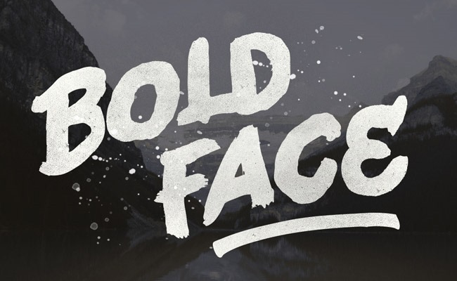 cold face 30 Creative and unique free fonts to use in your designs