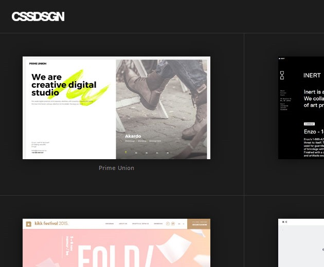 cssdsn 10 must visit web galleries for web design inspiration