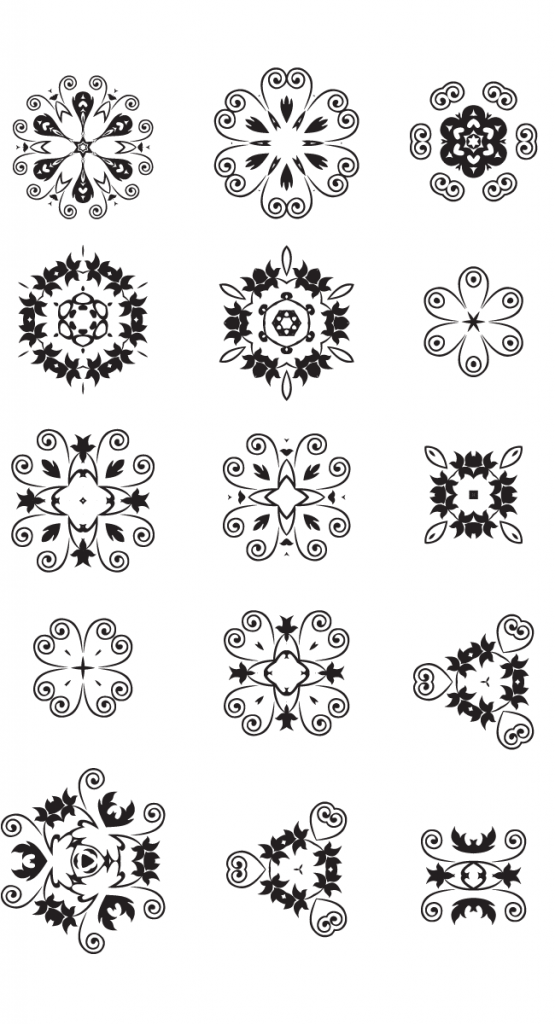 15 free unique decorative vector elements Edition #7 | Creative Nerds