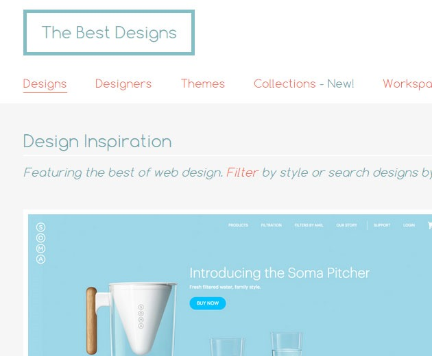 the best designs thumb 10 must visit web galleries for web design inspiration