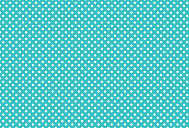 green-polka-dot-pattern-set