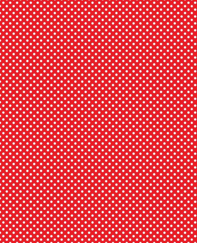 red Simple polka dot free seamless vector Patten