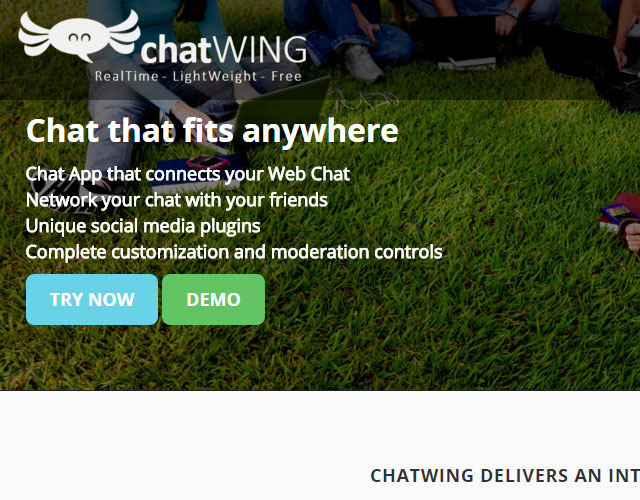 chatwing Thanks you sponsors January 2016