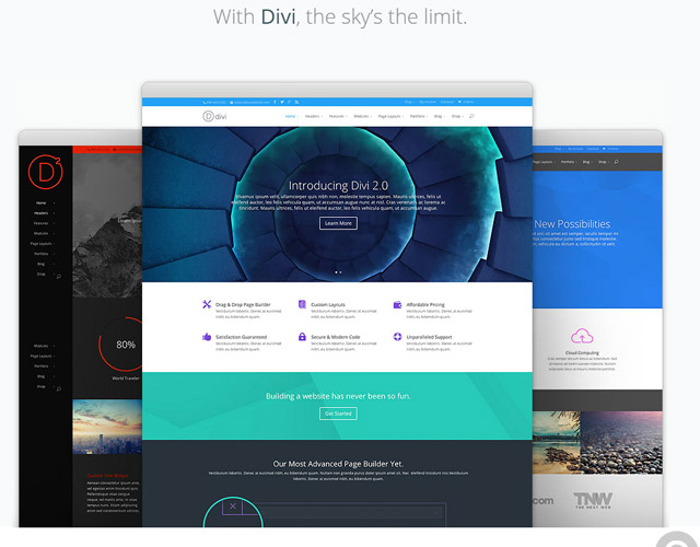 divi Thanks you sponsors January 2016
