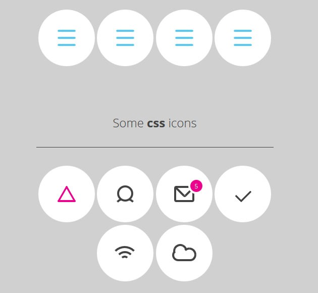 purecss icons 20 free CSS icon sets for Web Designers