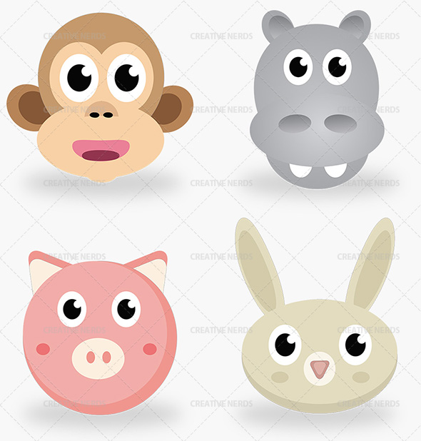 animal illustrations watermark Premium members: Animal Sketch character illustration
