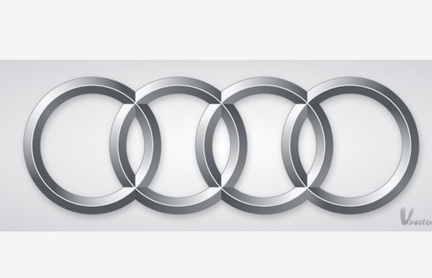 audi logo 35+ tutorials for learning how to create a logo using illustrator