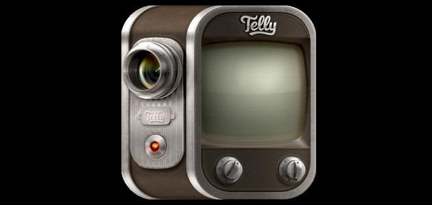 telly icon 25 Amazing IOS icon designs