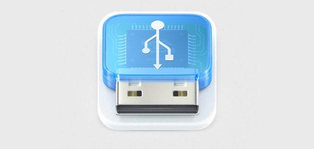 usb thumb 25 Amazing IOS icon designs