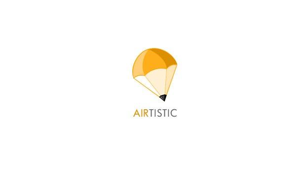 air tistic logo 20 Creative flat modern logo designs