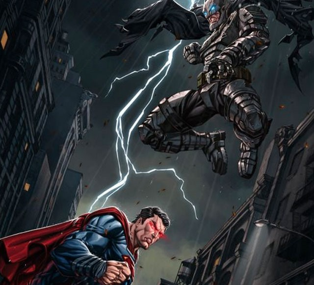 batman vs superman alexsy 30 Awsome Batman vs Superman illustrations