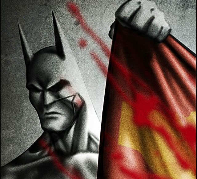 batman wins 30 Awsome Batman vs Superman illustrations