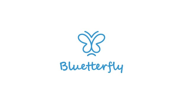 blutterfly 20 Creative flat modern logo designs