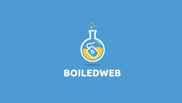boiled web 20 Creative flat modern logo designs