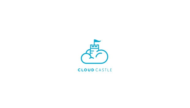clound castle 20 Creative flat modern logo designs