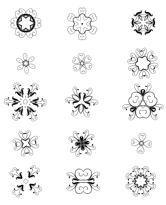 decorative elements edition 3 15 unique decorative free vector elements Edition #3