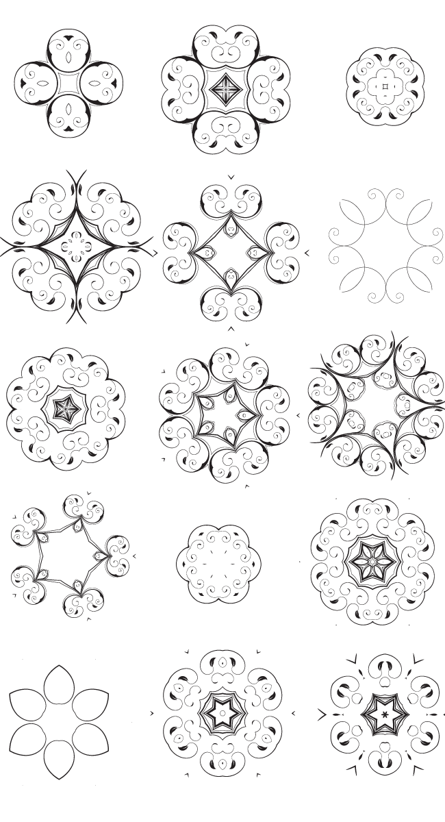 decorative vector elements edition 2 2 15 unique decorative vector elements Edition #2
