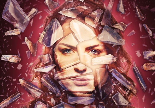 glass effect 80 best Photoshop tutorials created in 2016