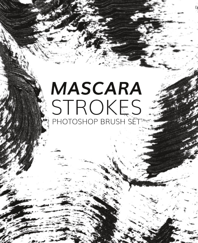 mascara strokes 1 The best design blog posts from 2016