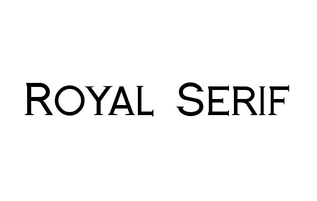 royal serif 20 Fresh new free fonts from 2016