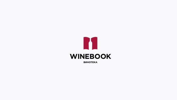 winebook 20 Creative flat modern logo designs