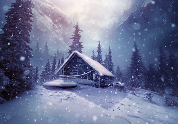 winter-snowflake-pattern