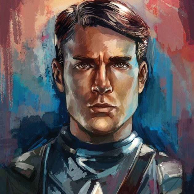 yori Awesome Captain America illustration showcase