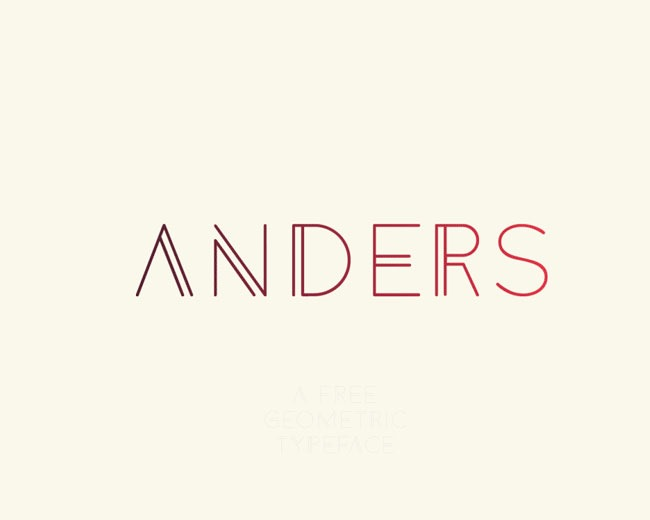 anders 100 Best free fonts to use for creating a logo