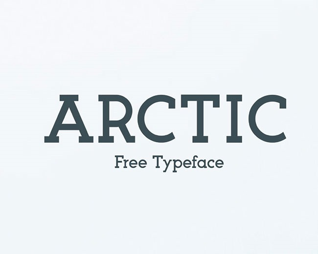 artic 100 Best free fonts to use for creating a logo