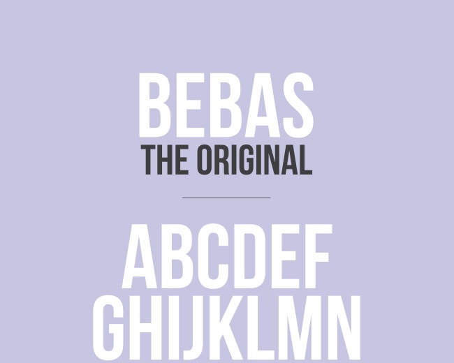 bebas 100 Best free fonts to use for creating a logo