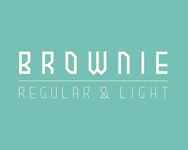 brownie 100 Best free fonts to use for creating a logo