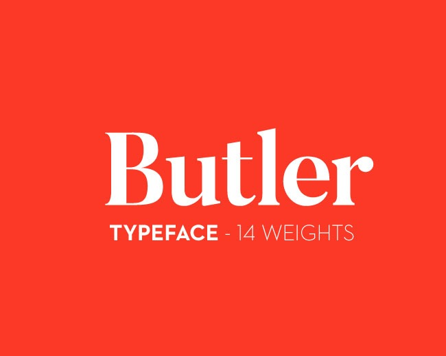 butler 100 Best free fonts to use for creating a logo