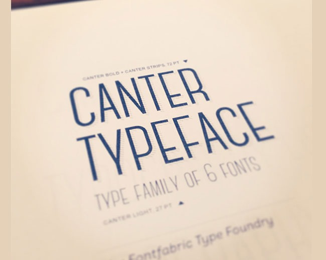 canter 100 Best free fonts to use for creating a logo